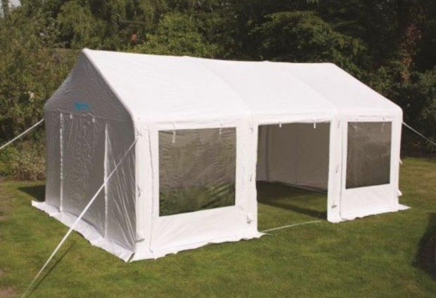Opblaasbare tenten