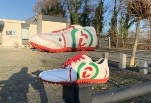 Opblaasbare schoen